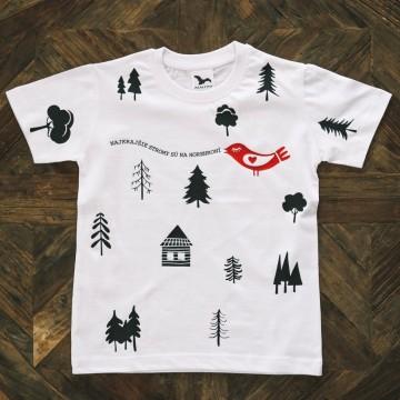 Detské tričko Horehronie